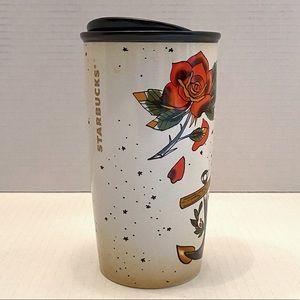 Starbucks Mermaid Siren Tattoo Tumbler Travel Mug